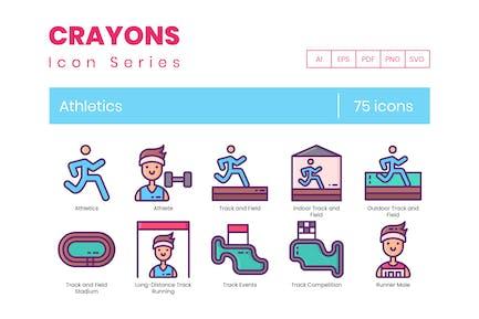 75 Иконки легкой атлетики