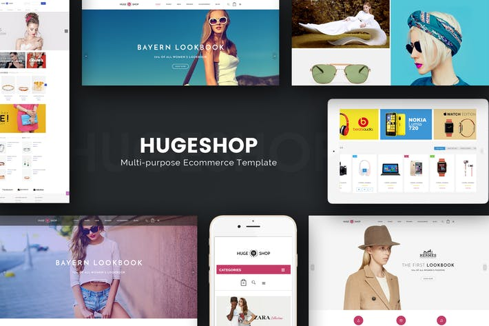 Thumbnail for HugeShop - Wonderful Multi Concept Opencart theme