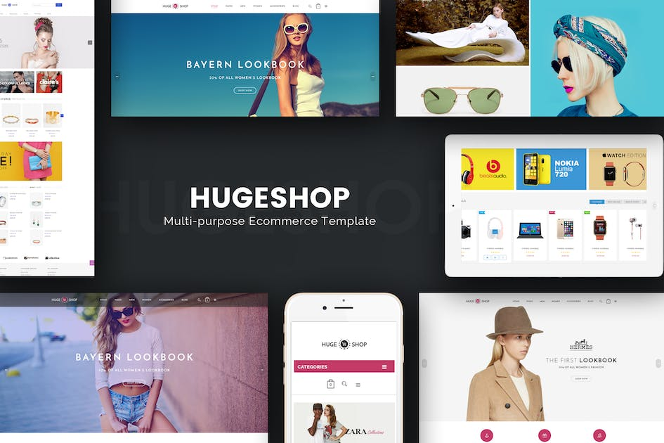 Download HugeShop - Wonderful Multi Concept Opencart theme by Plaza-Themes