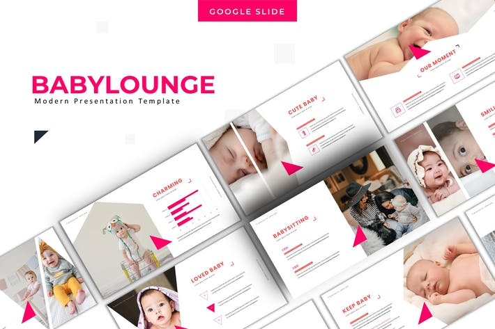 Thumbnail for Babylounge - Keynote Template