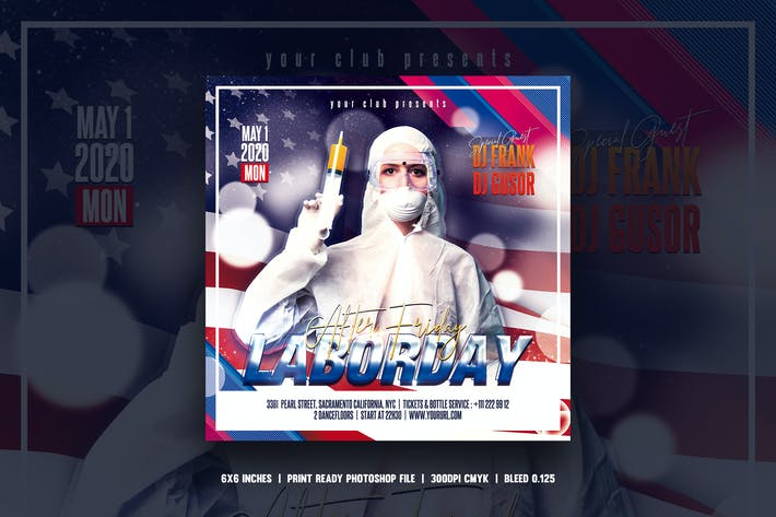 Thumbnail for Labor day save lives flyer