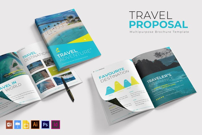 Thumbnail for Travel | Brochure Template