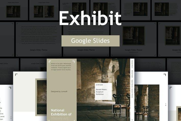 Thumbnail for Exhibit Google Slides Template