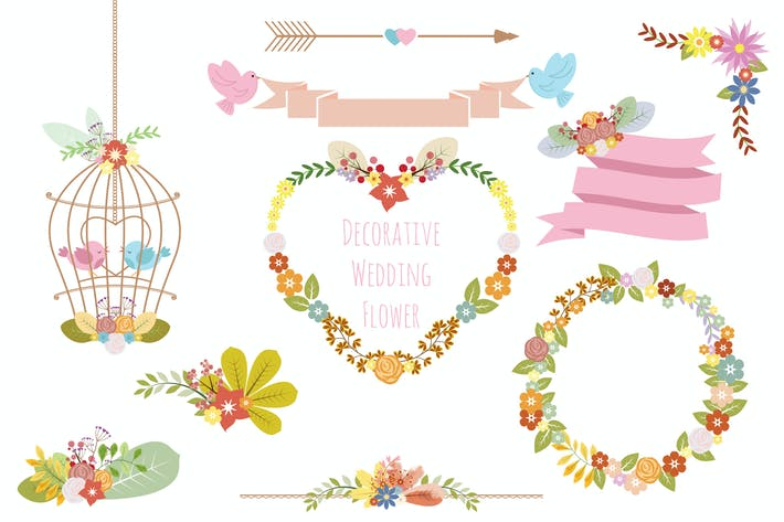 Cover Image For Decorative Wedding Flower