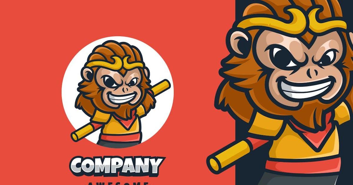 Download Monkey Boy Logo Mascot by maikohatta
