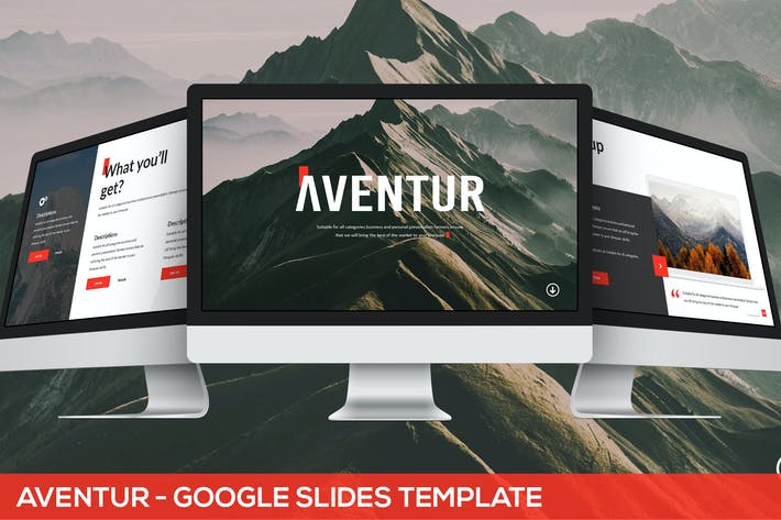 Thumbnail for Aventur - Google Slides Presentation Template