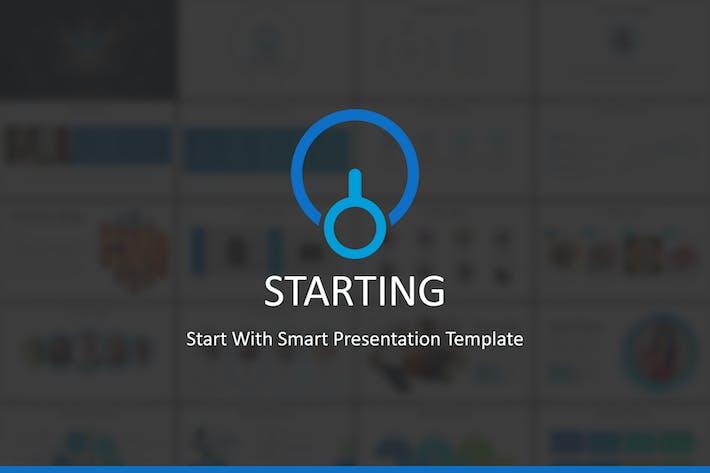 Thumbnail for Starten - Keynote Vorlage