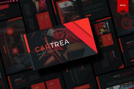 Cartrea | Powerpoint Template