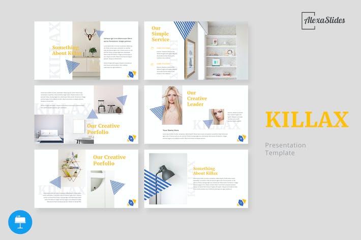 Thumbnail for Kilax - Creative Keynote Template