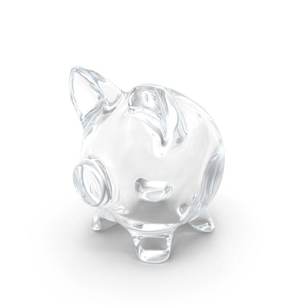 Thumbnail for Sparschwein aus Glas