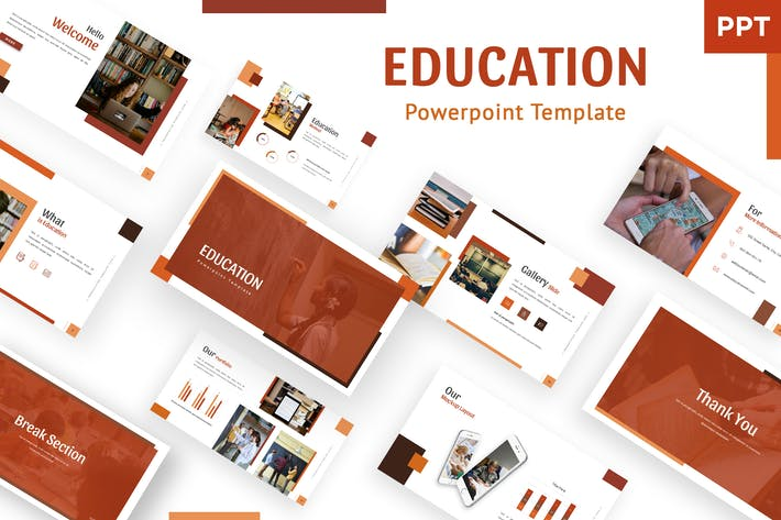 Thumbnail for Educator - Powerpoint Template