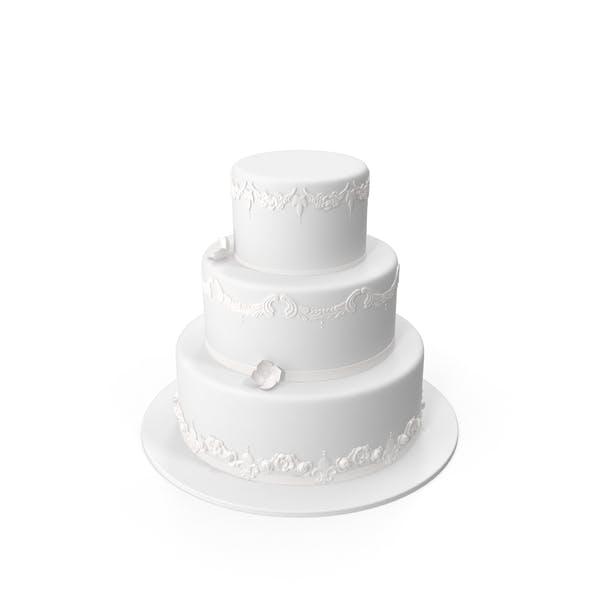 Thumbnail for Round Wedding Cake