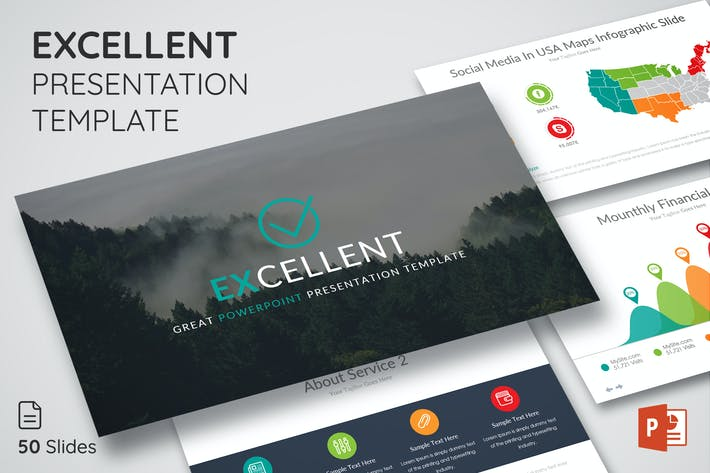 Thumbnail for Excellent - Powerpoint Presentation Template