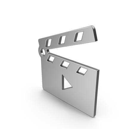 Movie Clapper Open Symbol