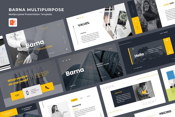 Thumbnail for BARNA - Multipurpose Presentation Powerpoint