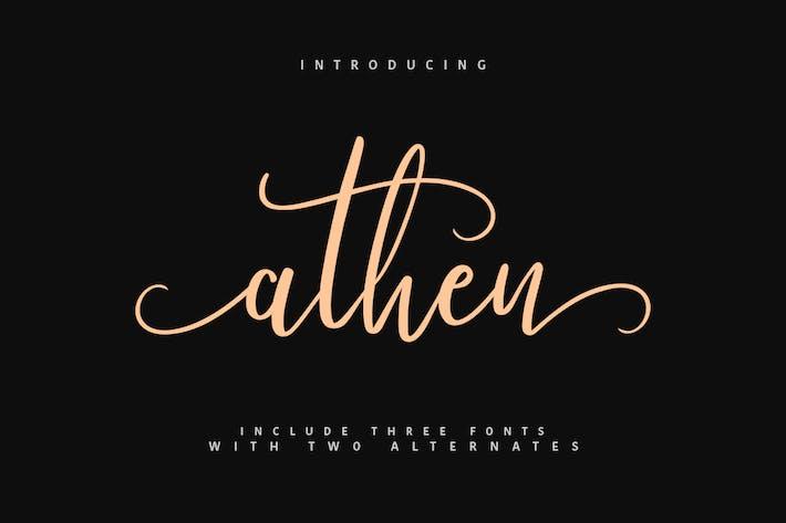 Thumbnail for Athen Typeface