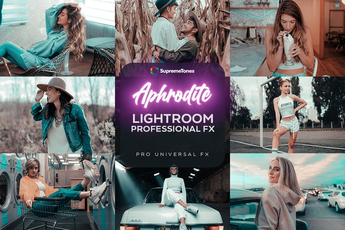Aphrodite EXCLUSIVE Lightroom Pro Presets