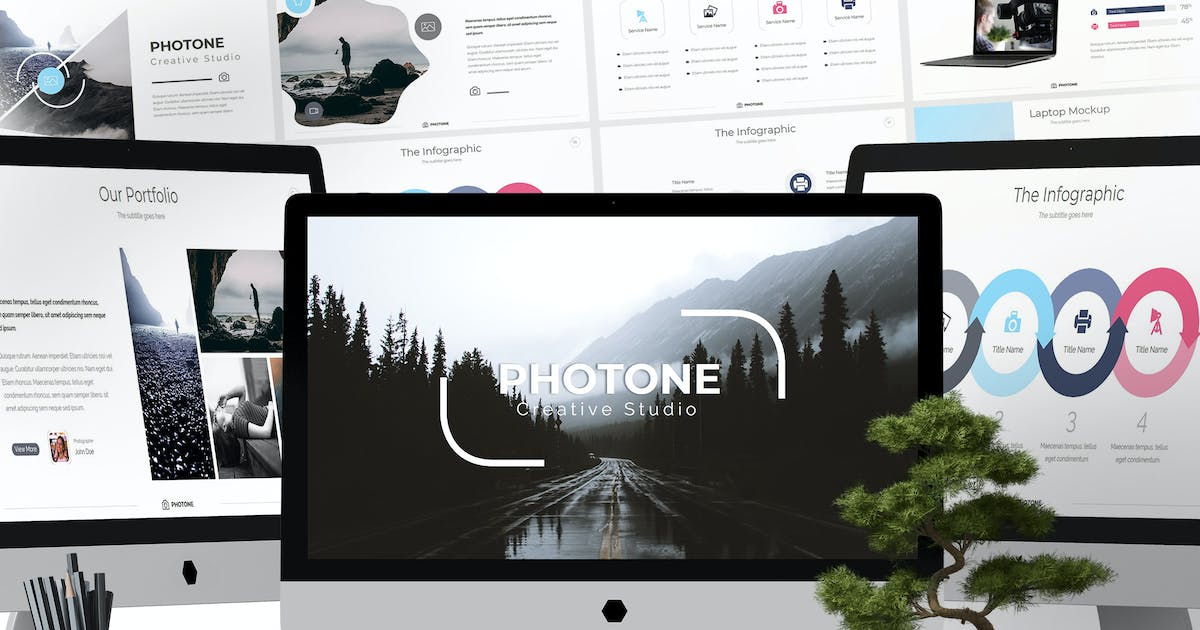 Download Photone - Keynote Templates by aqrstudio