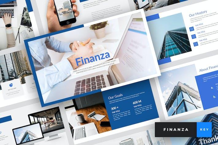 Thumbnail for Finanza - Finance Keynote Template