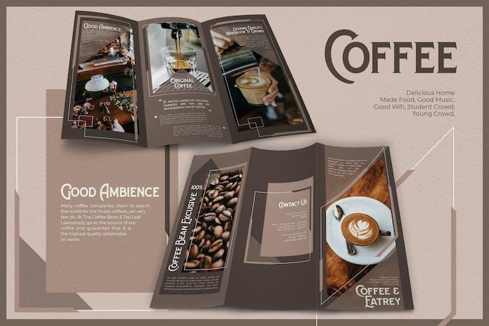 Thumbnail for Modern Geometric Coffee - Brochure