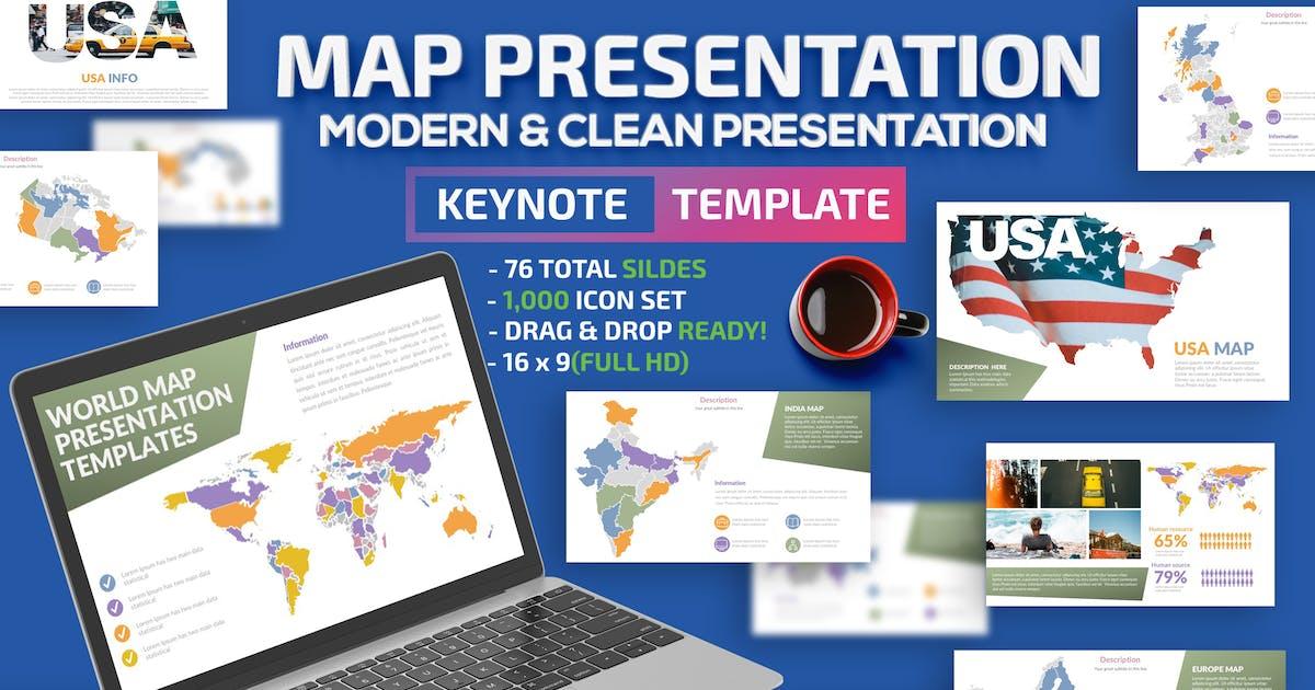 Download Map Design Keynote Presentation by mamanamsai