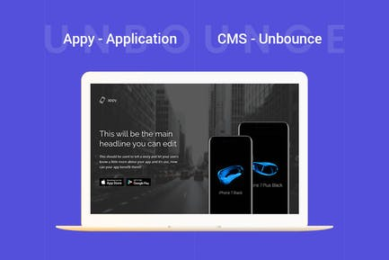 Appy - Application Unbounce Landing Page