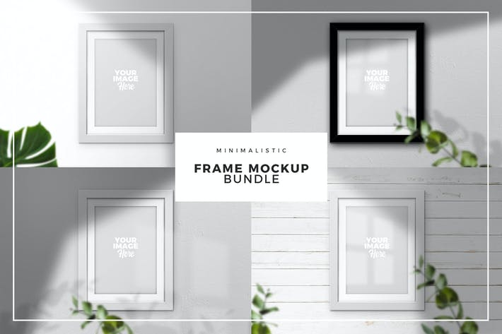 Thumbnail for Frame Mockup Bundle