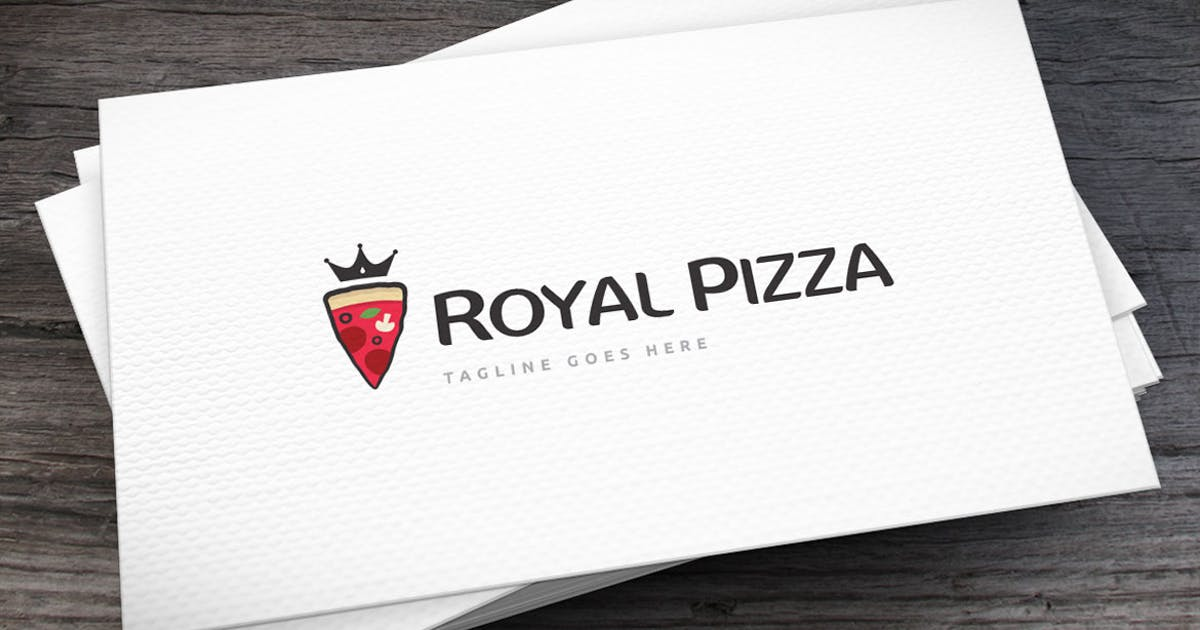 Download Royal Pizza Logo Template by empativo