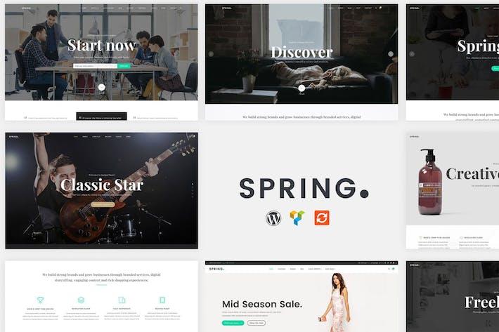 Thumbnail for Spring - Multipurpose WordPress Theme