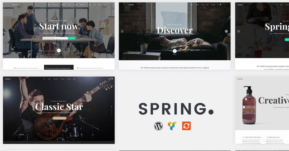 Download Spring - Multipurpose WordPress Theme by 9WPThemes