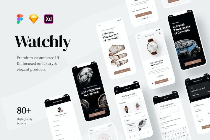 Thumbnail for Watchly - Ecommerce UI Kit
