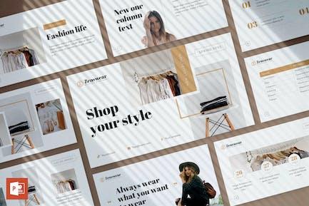 Boutique PowerPoint Presentation Template