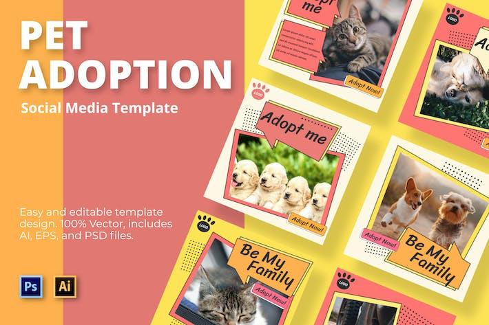 Thumbnail for Médias sociaux pour animaux familiaux