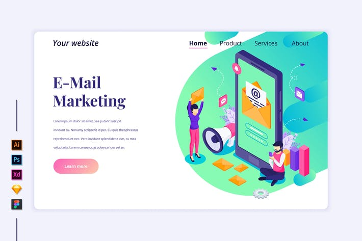 Marketing Isometric - Agnytemp