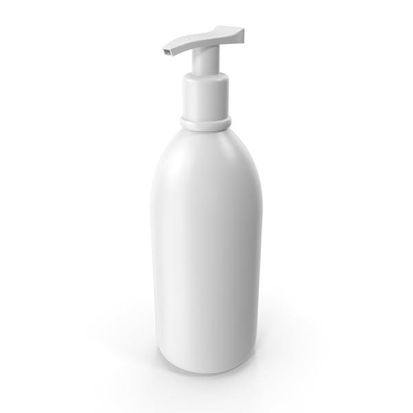 Botella dispensadora de plástico