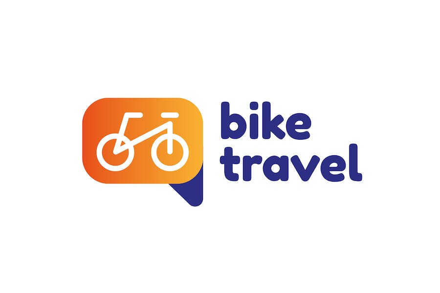 Bike Travel Logo - product preview 0