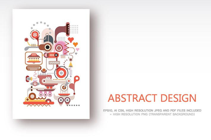 Thumbnail for Abstract Design vector illustration