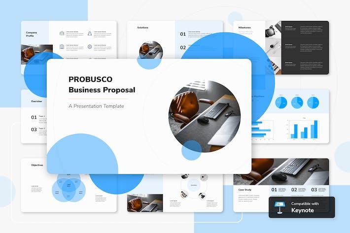 Thumbnail for PROBUSCO - Шаблон ключевых заметок бизнеса