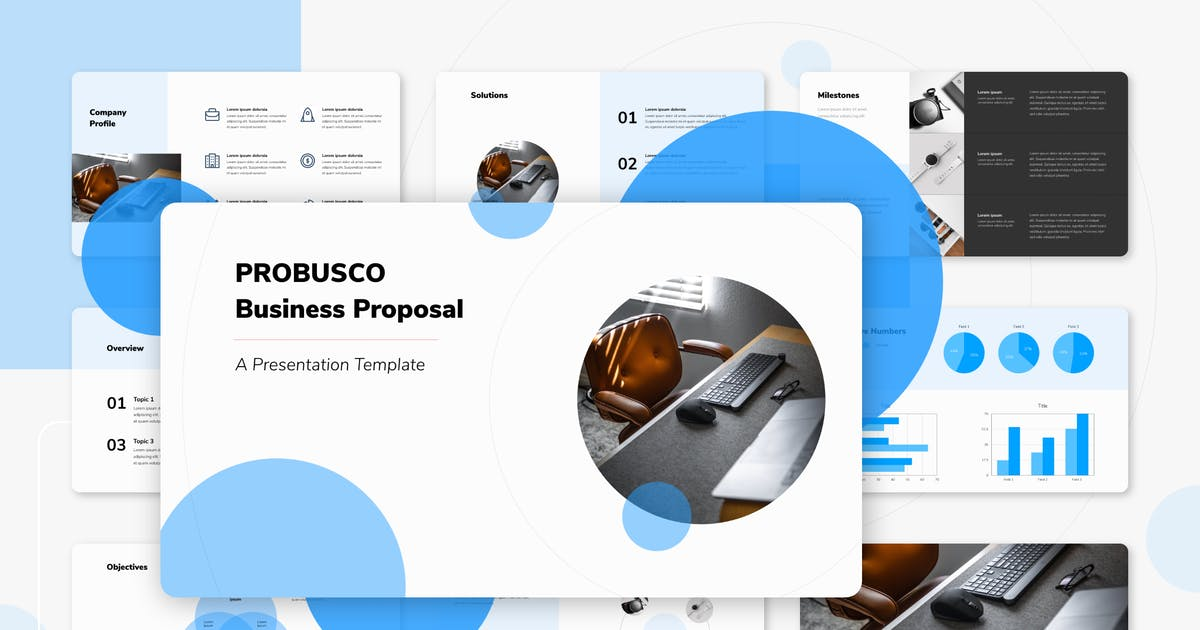 Download PROBUSCO - Business Keynote Template by inipagi