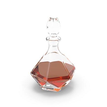 Whisky-Dekanter aus Glas