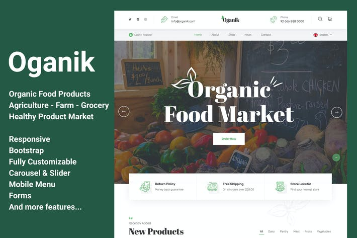 Oganik - Organic Food Products & Agriculture Farm