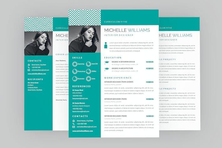 Thumbnail for CV essence Resume Designer
