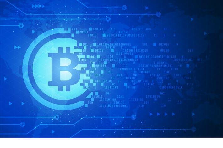 Thumbnail for Bitcoin Technology Vektor Illustration 4