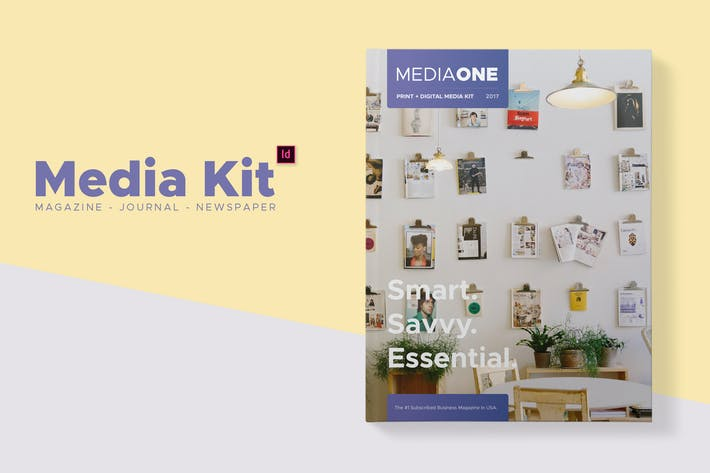 Thumbnail for Print Media Kit Template