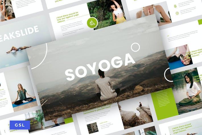 Soyoga - Yoga & Meditation Google Slide