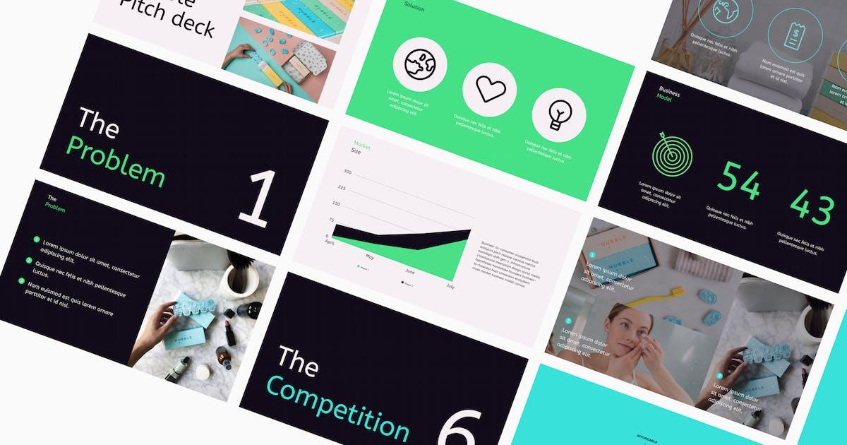 Download Startup Venture pitch deck presentation by designfetch