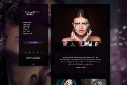 Makeup | Barbershop HTML Template