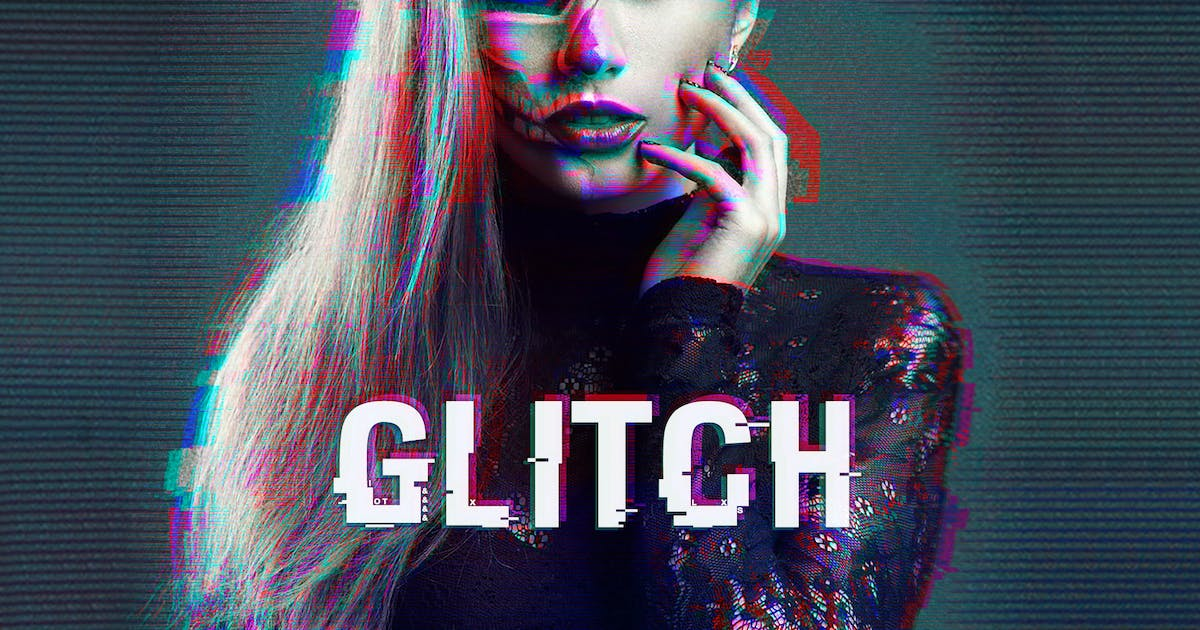 Download Glitch Photoshop Action by styleWish