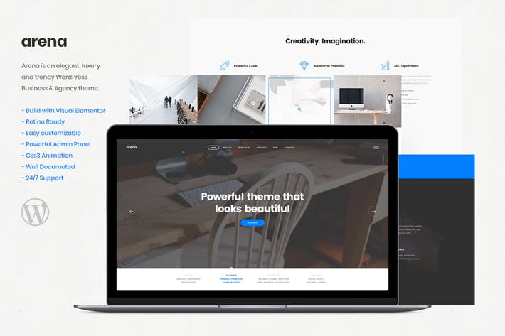 Thumbnail for Arena - Business & Agency WordPress Theme
