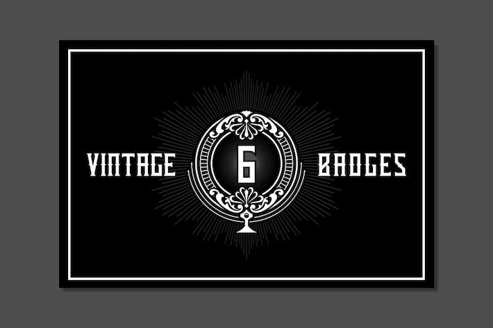 Thumbnail for Twicolabs' Vintage Badges